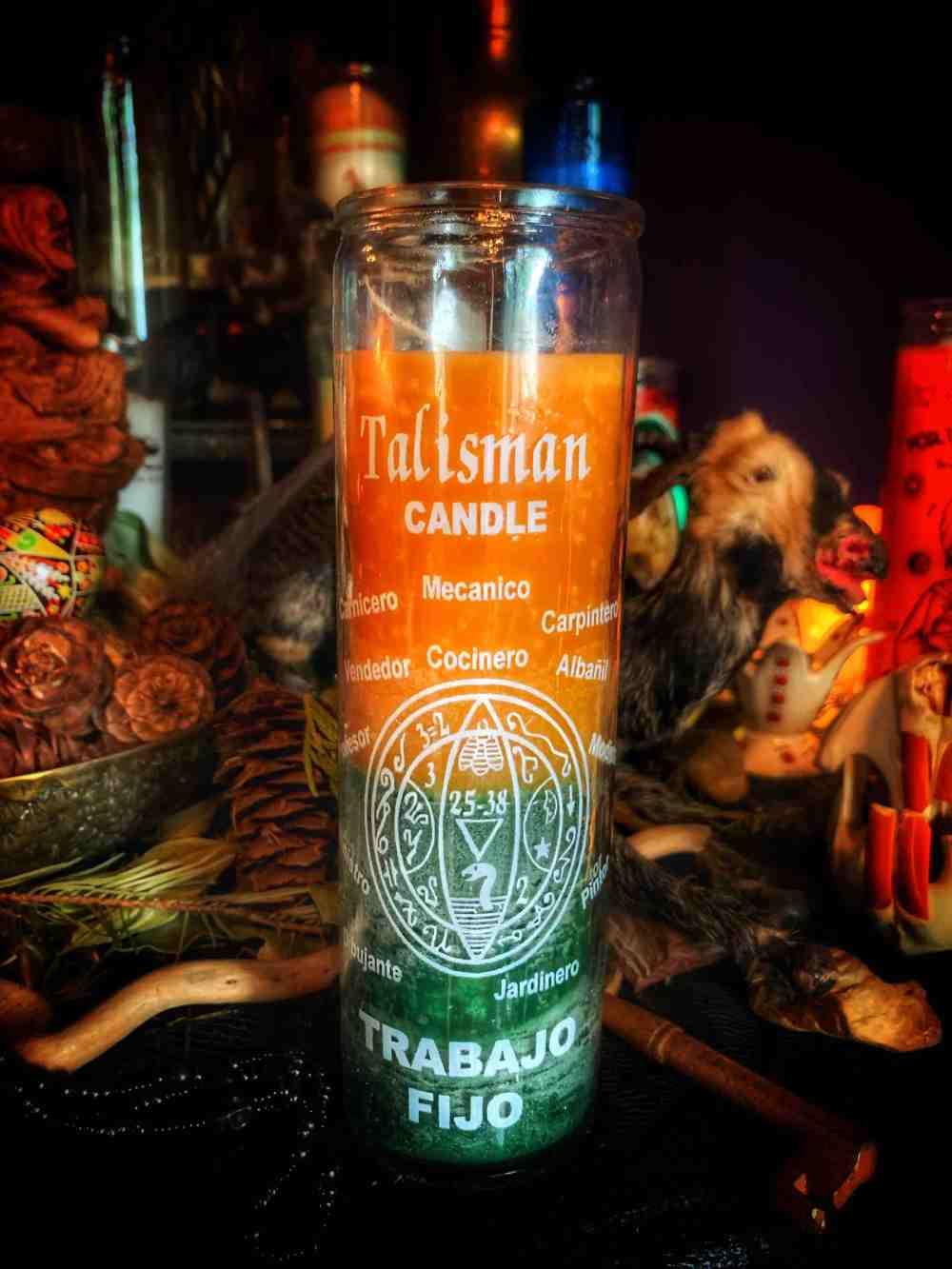 Money Talisman Vigil Candle