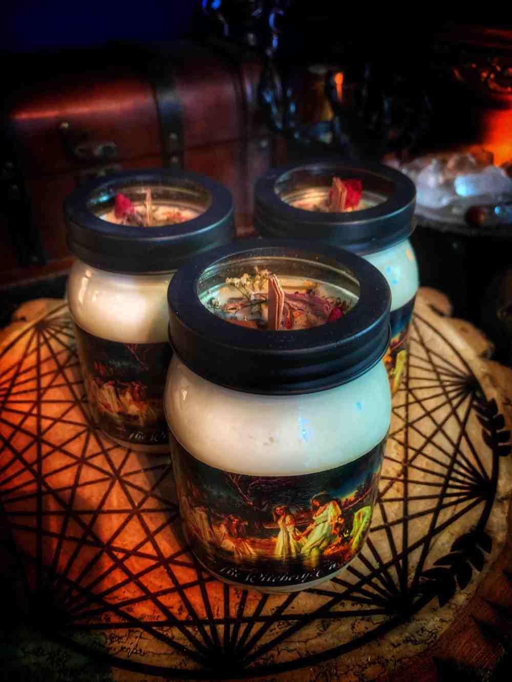 Kupala Night Ritual Candle