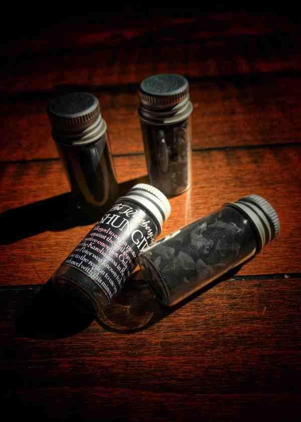 Shunite Dust
