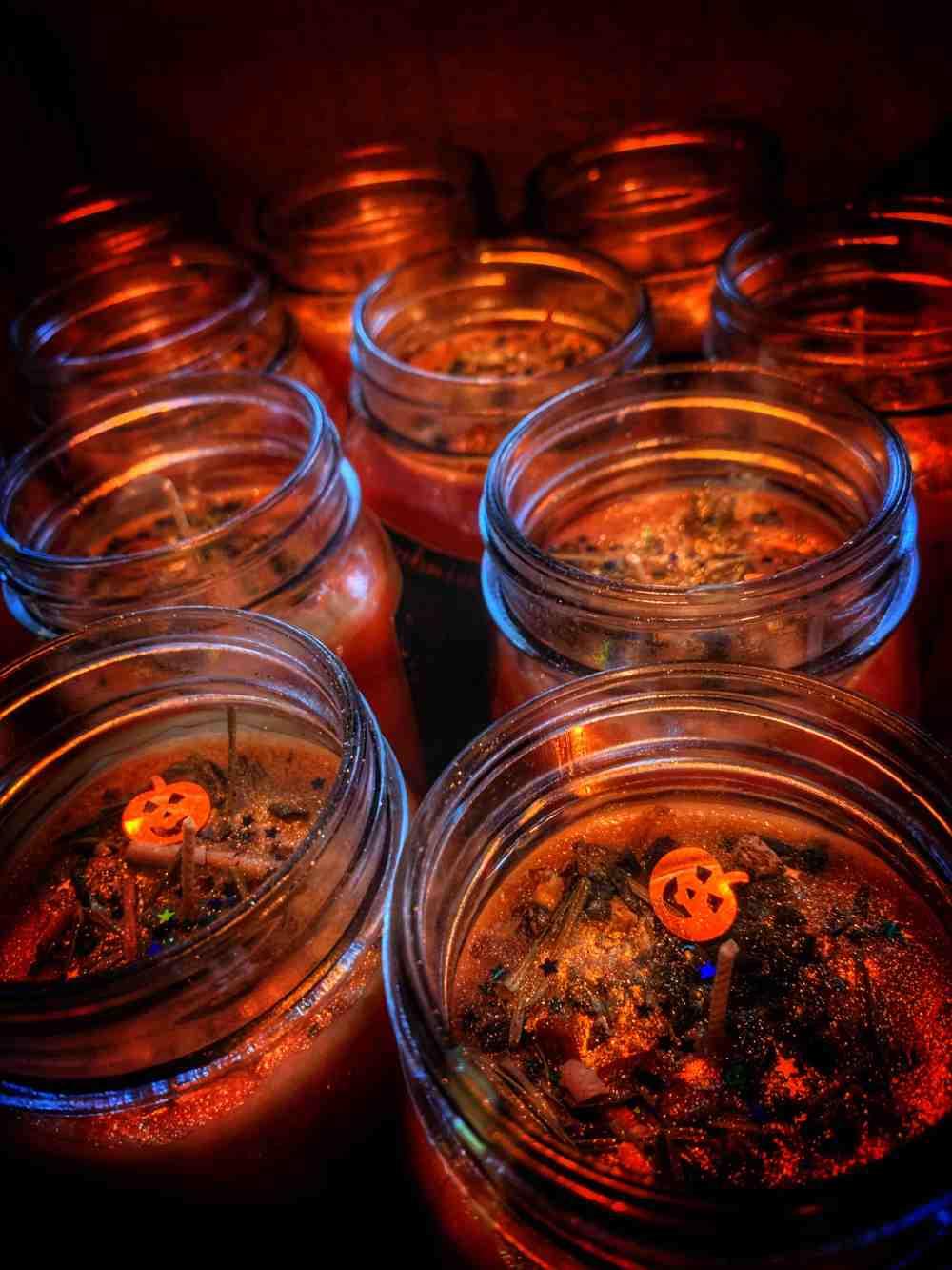 Samhain Ritual Candle