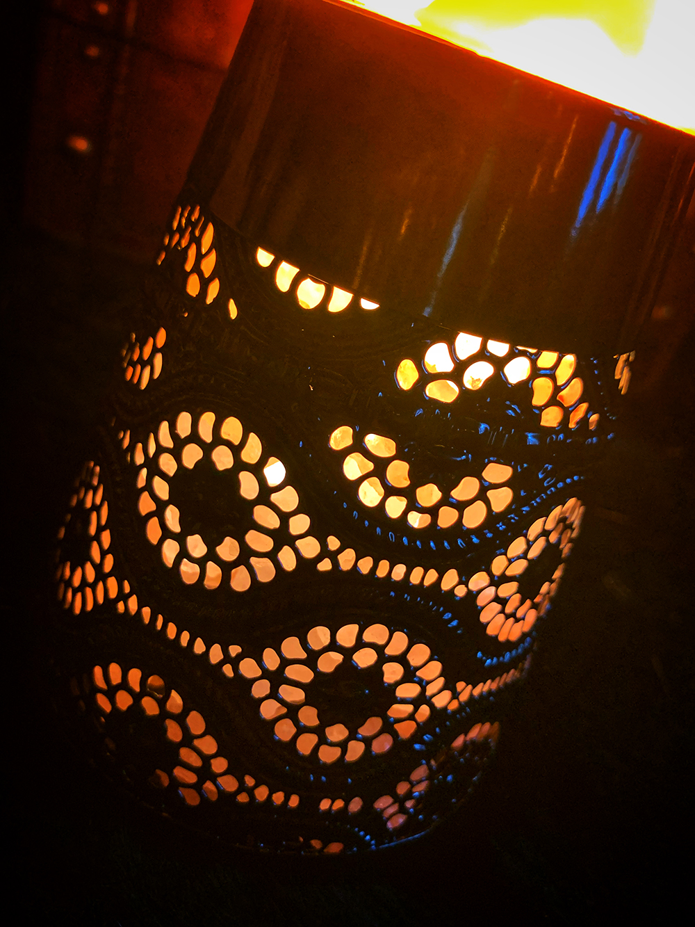 The Witches Salt Lava Lamp