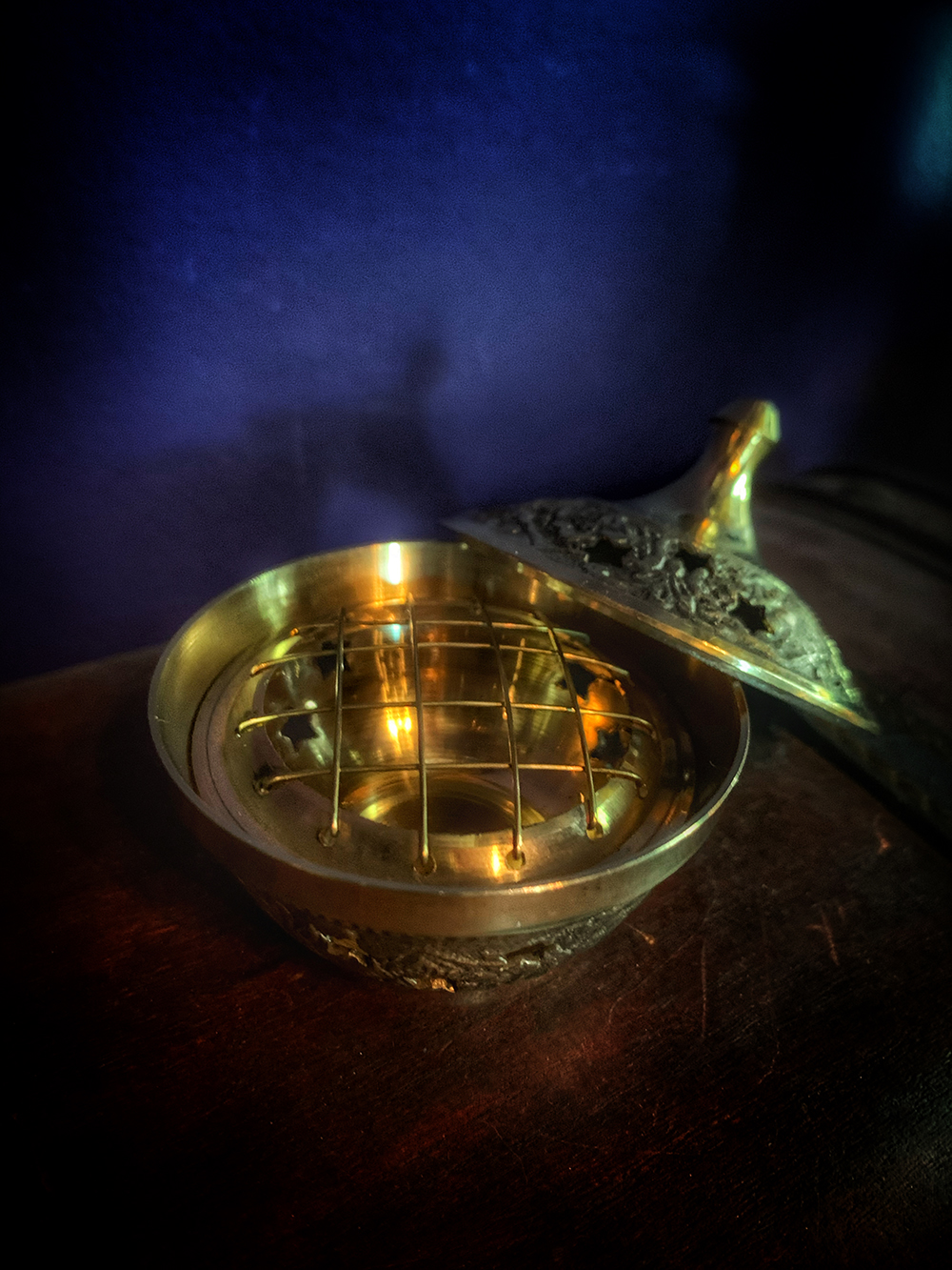Incense Burner Charcoal Celestial