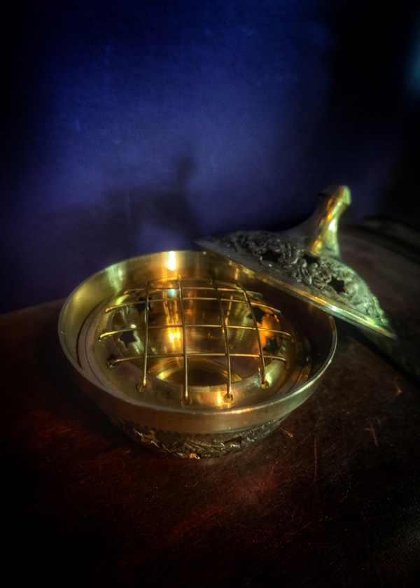 Incense Burner Charcoal Celestial