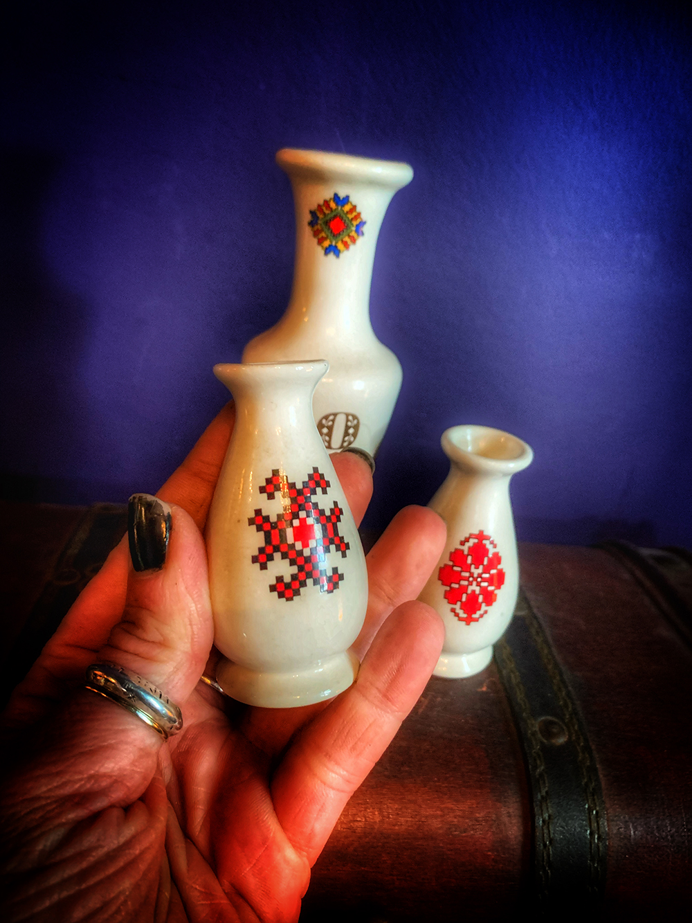 Altar Vase Vintage Slavic Surprise Mini