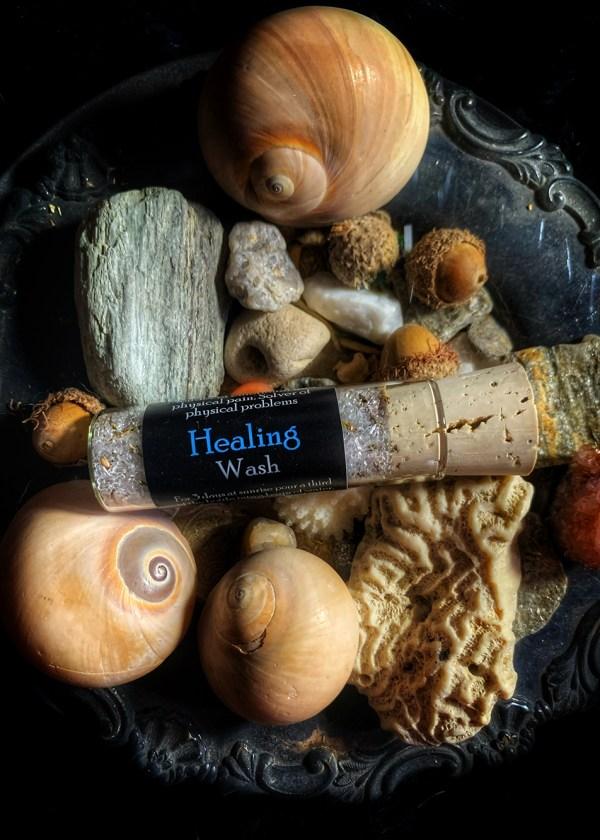 Healing ritual Wash