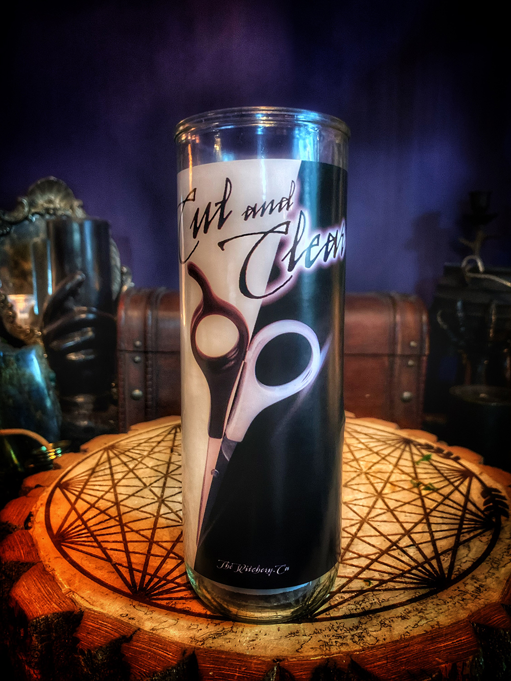 Cut and Clear Vigil Candle