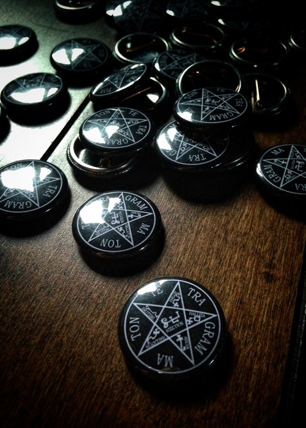 Tetragrammaton Pin