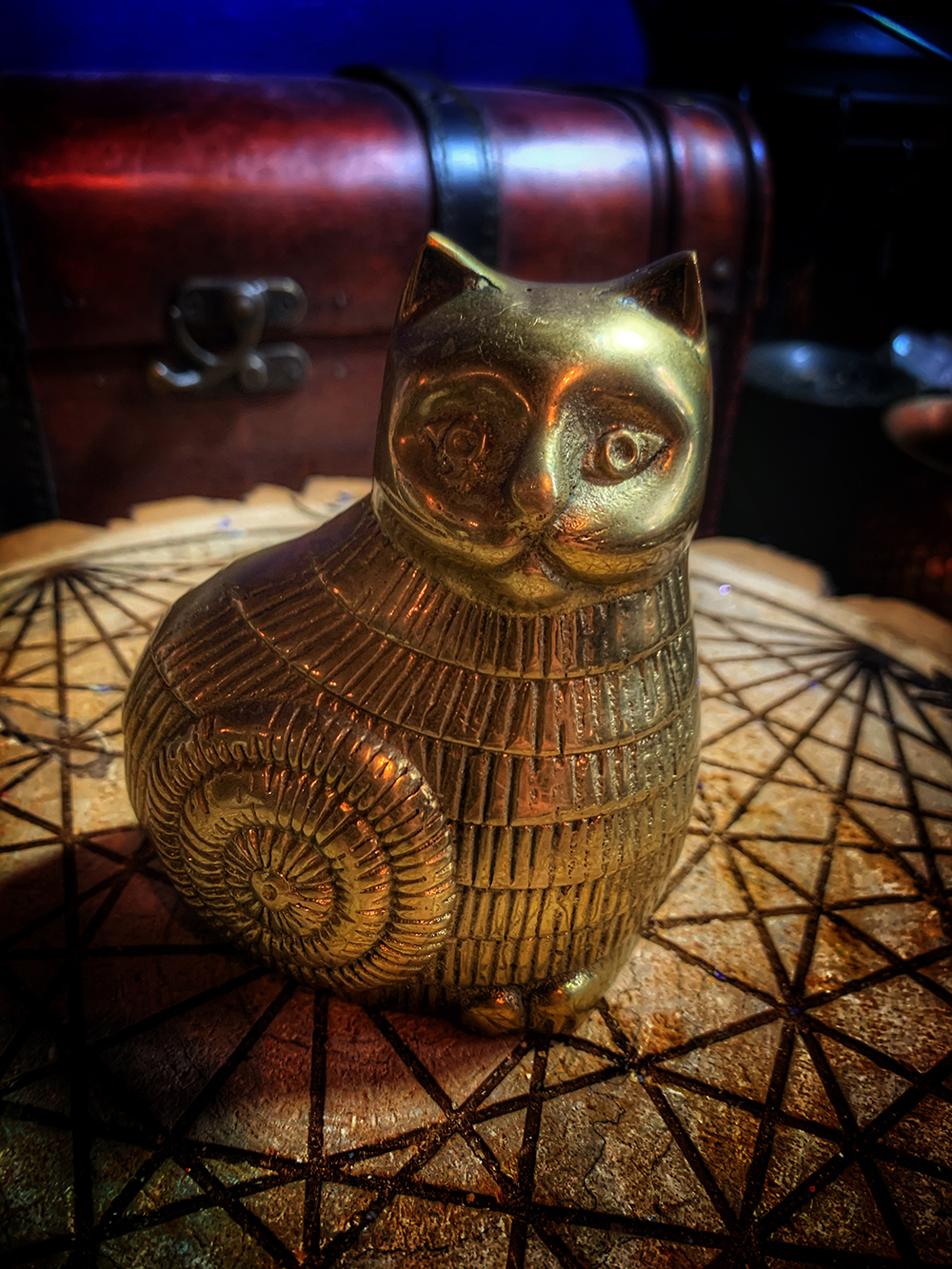 Brass Cat Vintage