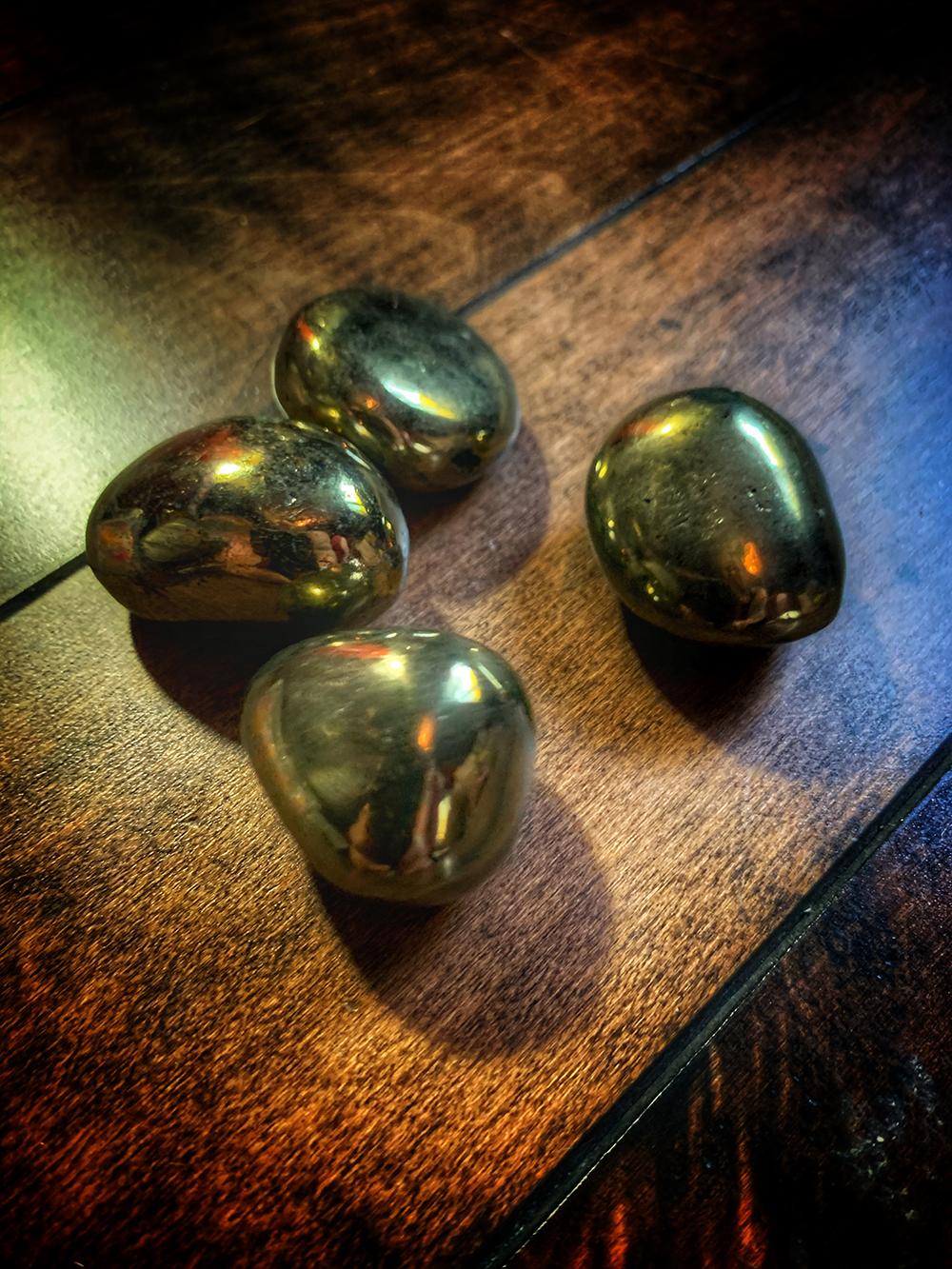 Pyrite Golden Egg