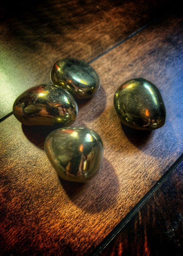 Pyrite Golden Egg