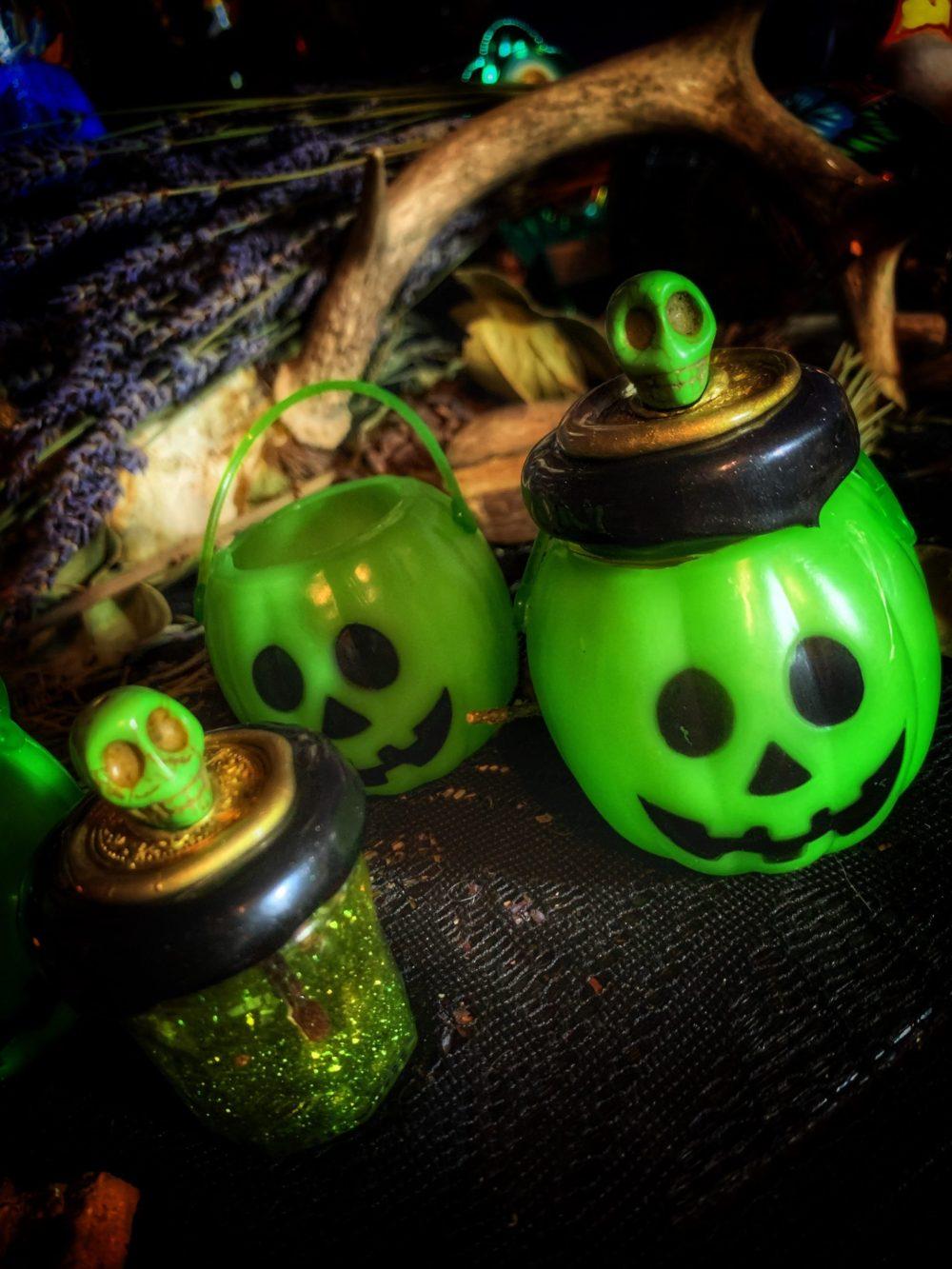 Pumpkin of Prosperity Mini Honey Jar Talisman