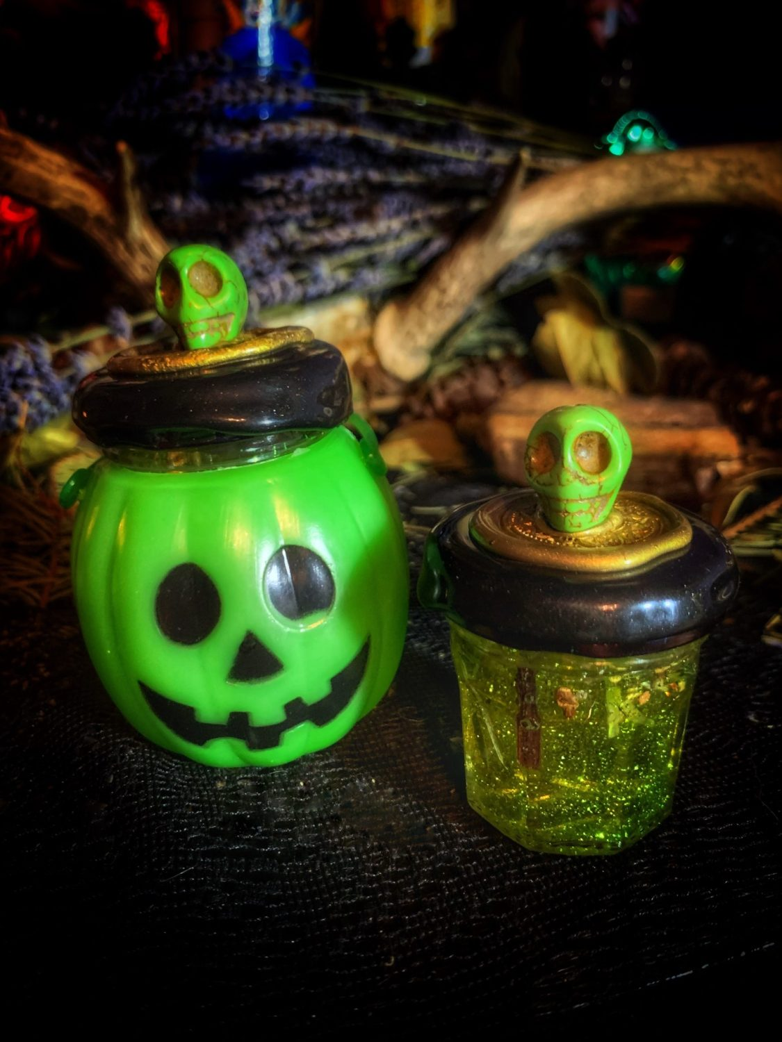 Pumpkin of Prosperity Mini Honey Jar Talisman