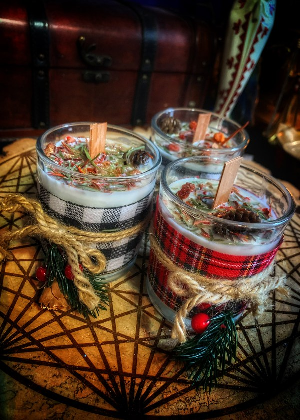 Winter Warm Wishes Candle