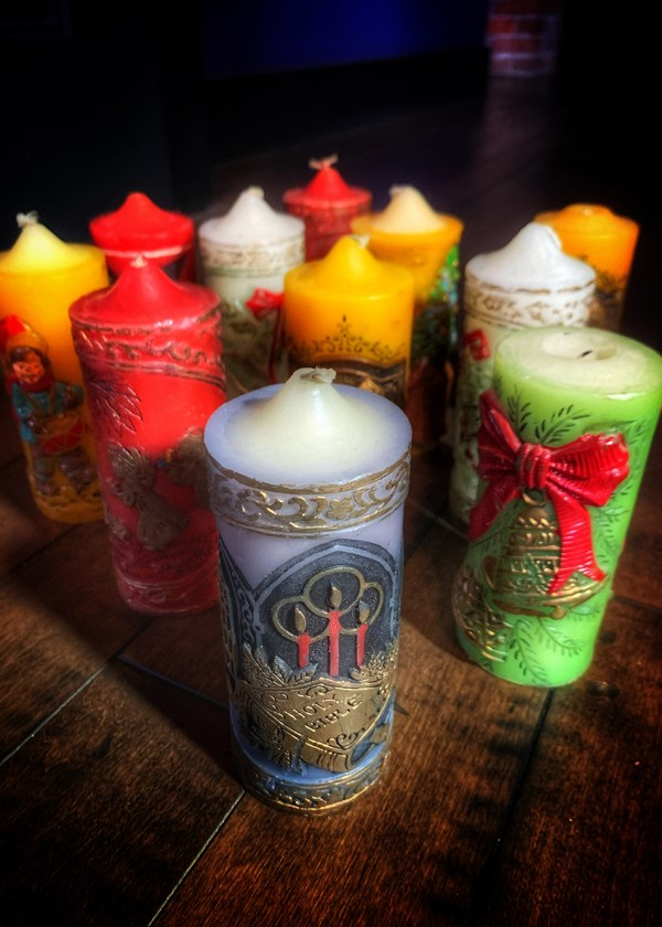 Yule be Surprised Candle