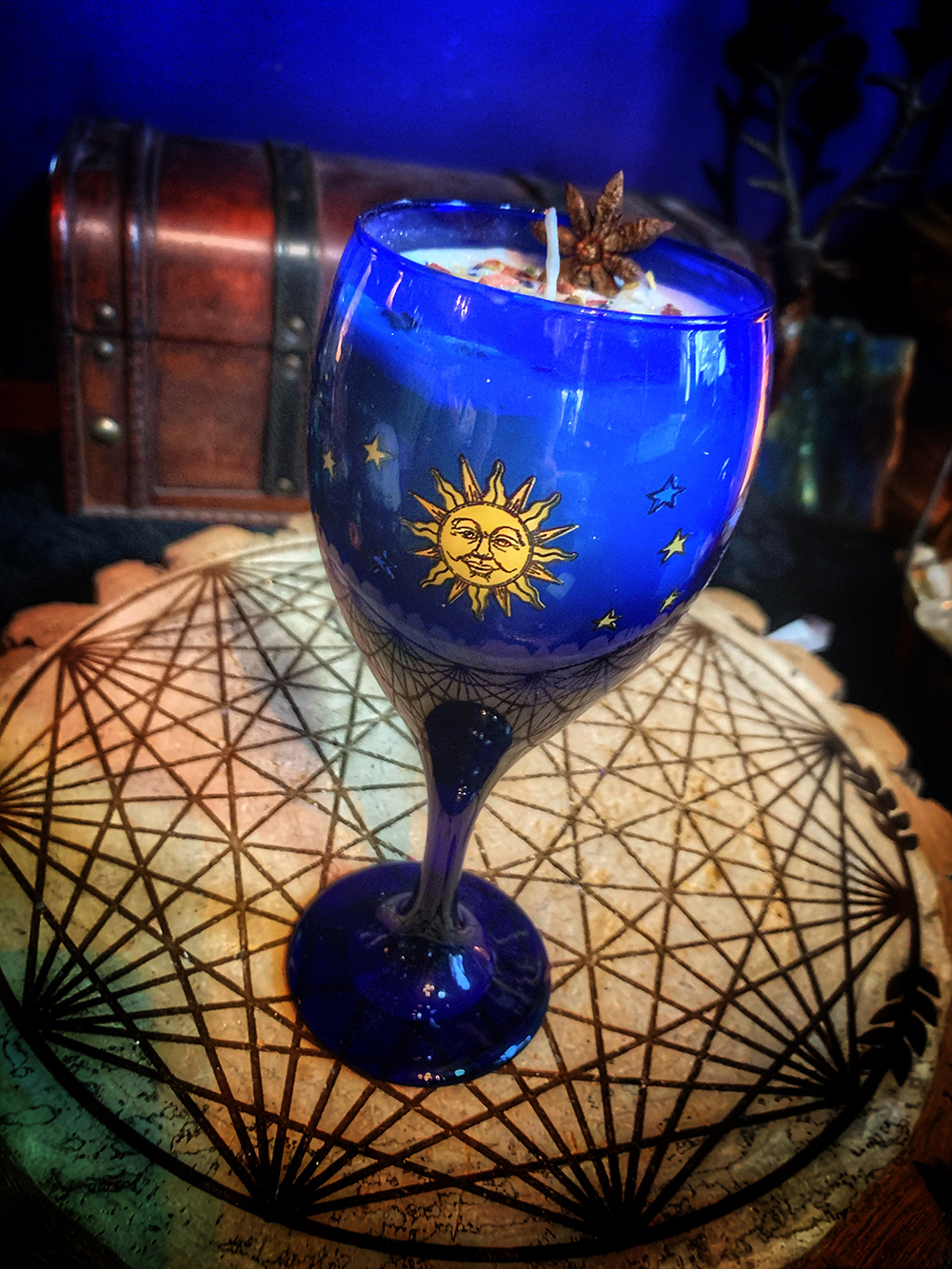 Psychic Visions Candle Vintage