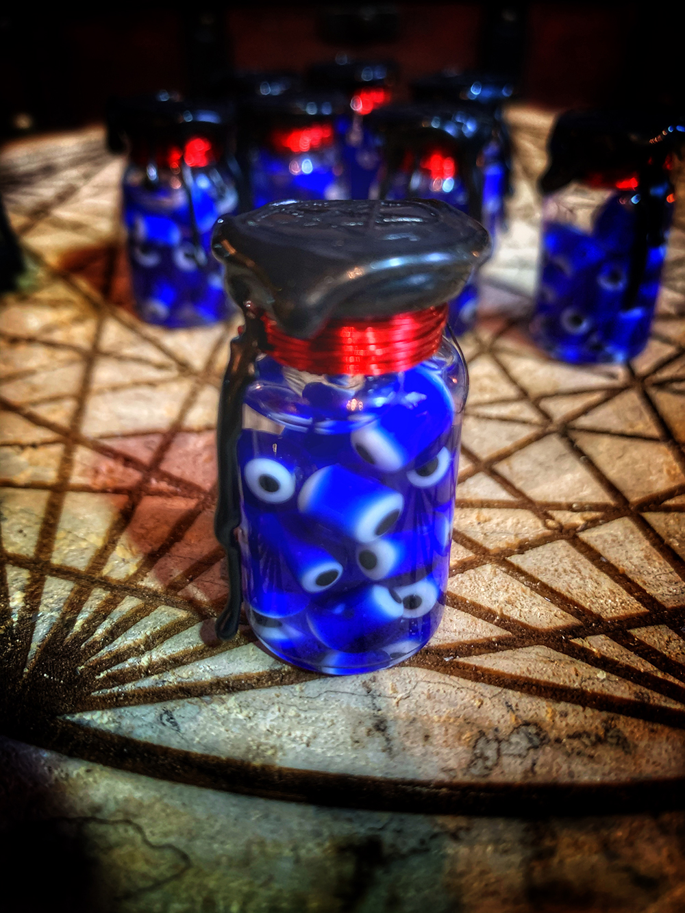 Evil Eye Protection Witch Bottle