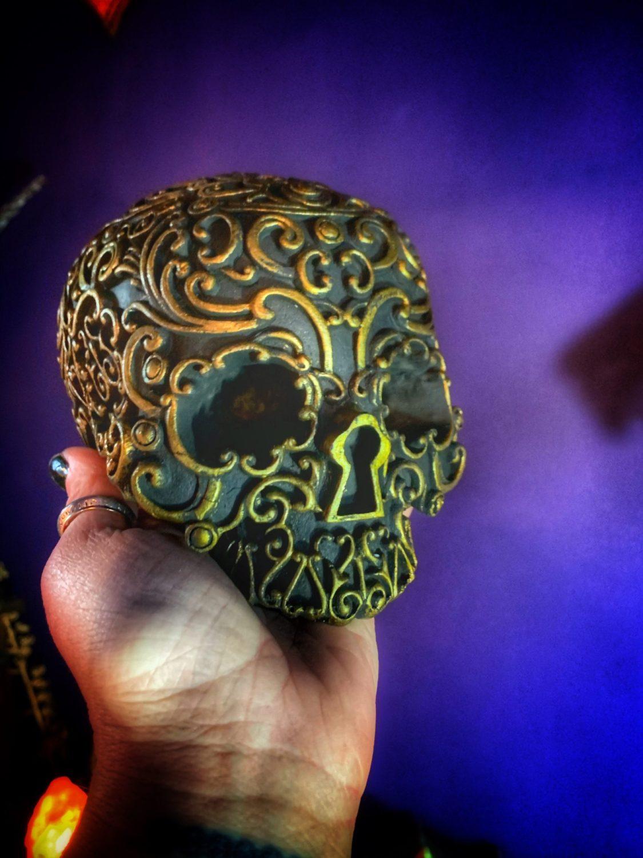 The Keeper of Keys Altar Skull