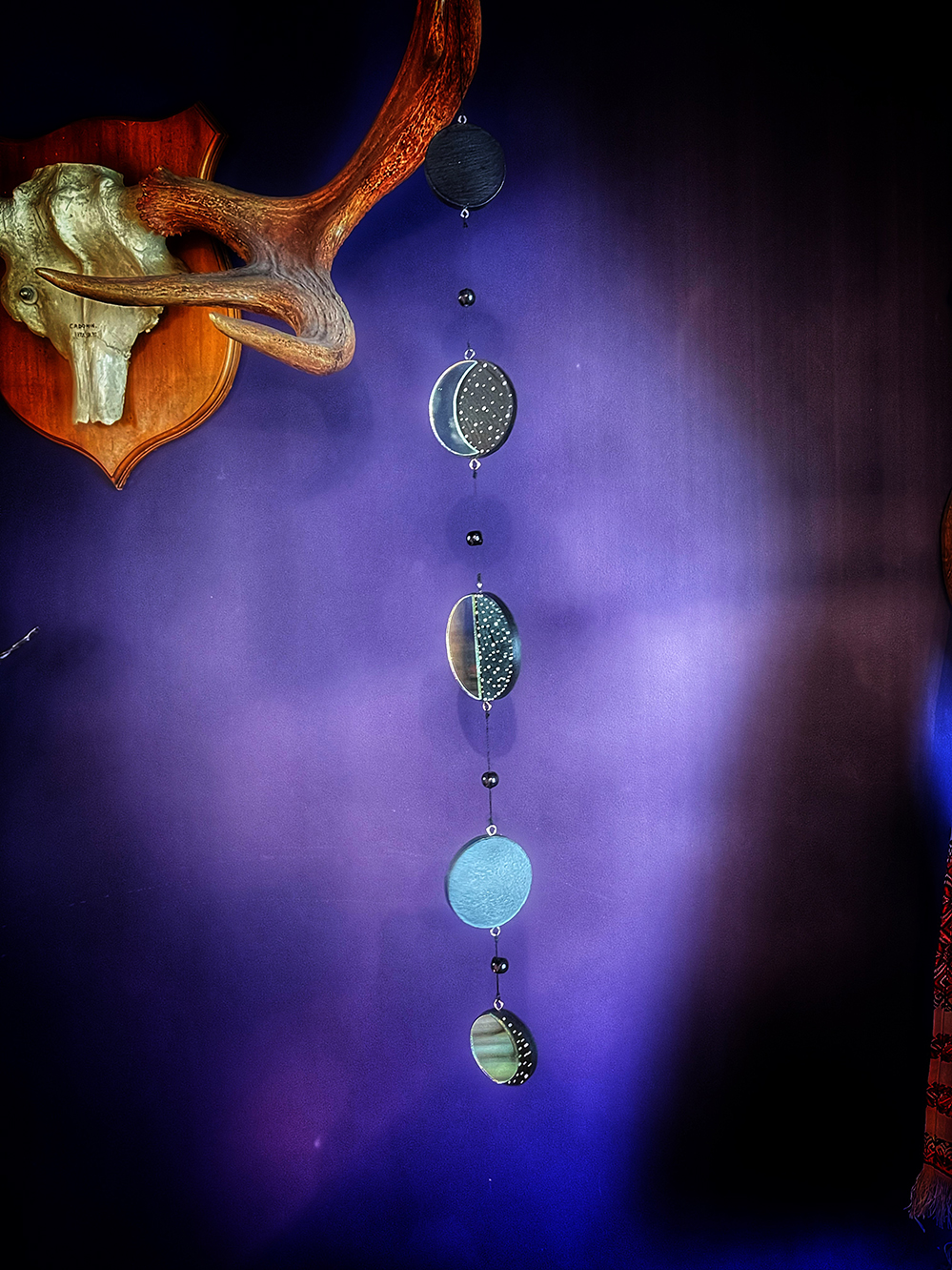 Moon Phase Wall Amulet