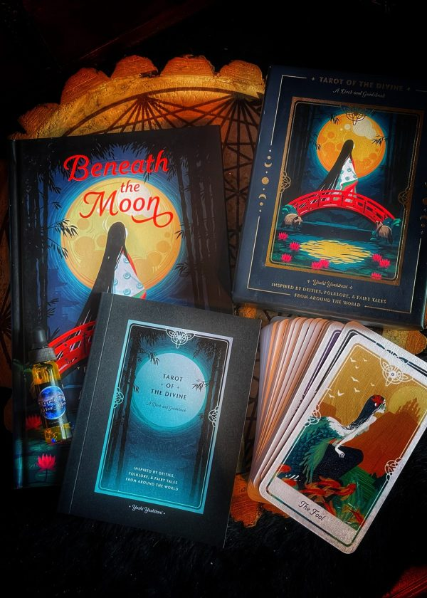 Beneath the Moon: Fairy Tales Book & Tarot Deck