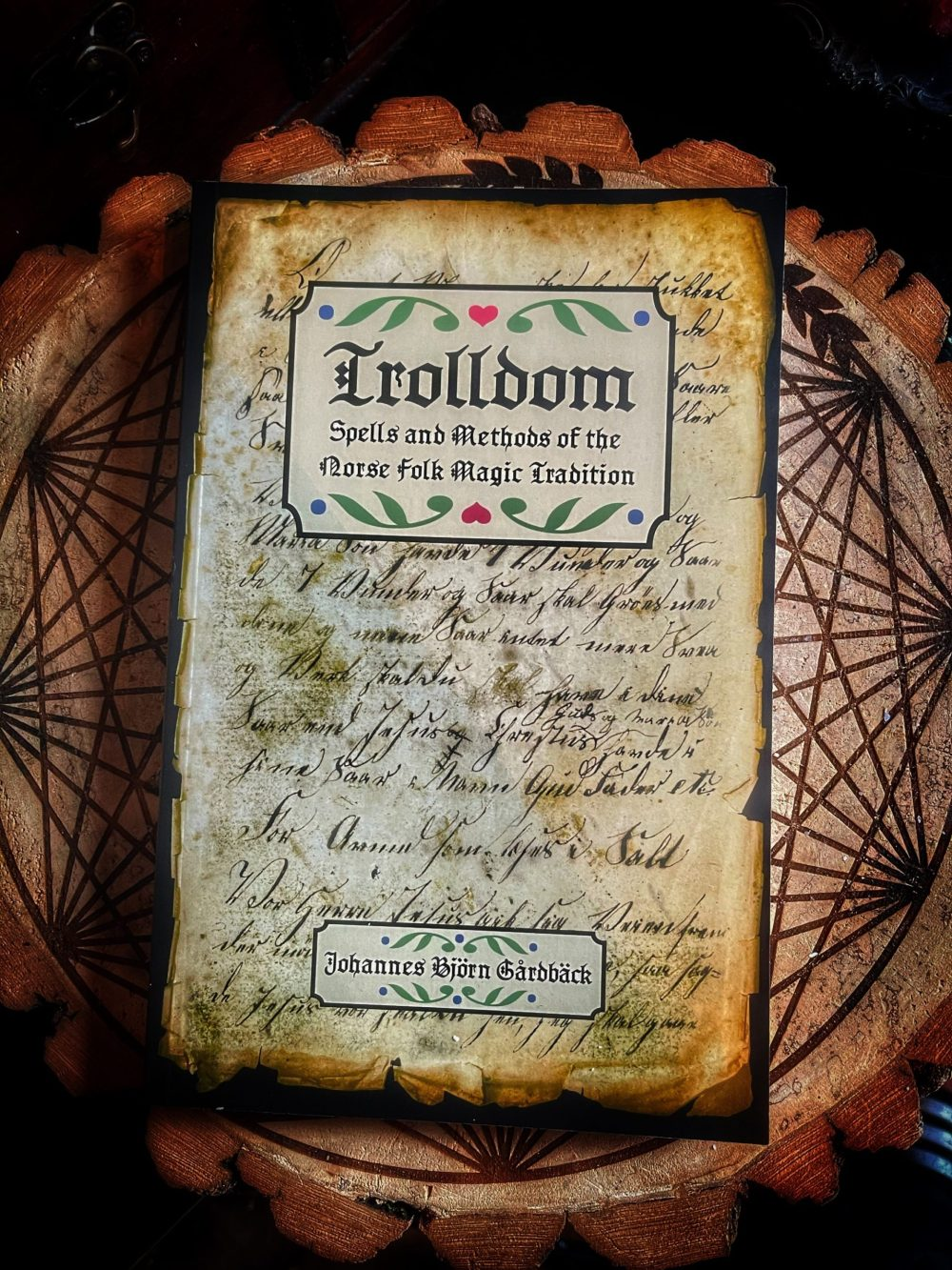 Trolldom Spells & Methods of the Norse Folk Magic Tradition Book