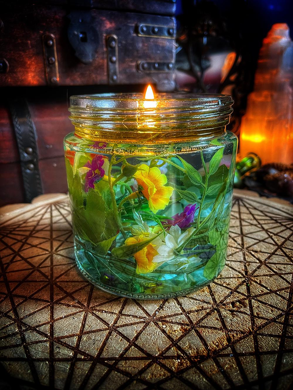 Kupala Floating Candle Ritual Kit