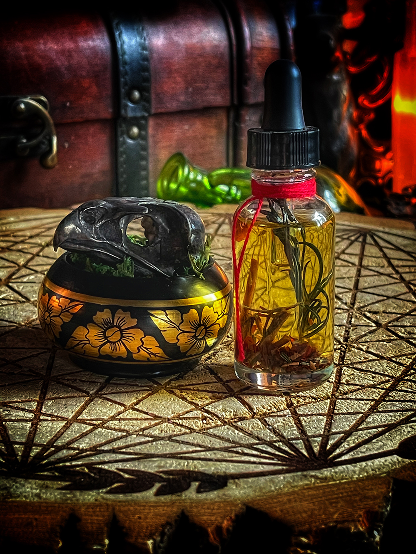 Bird of Knowledge Ritual Reliquary Bowl