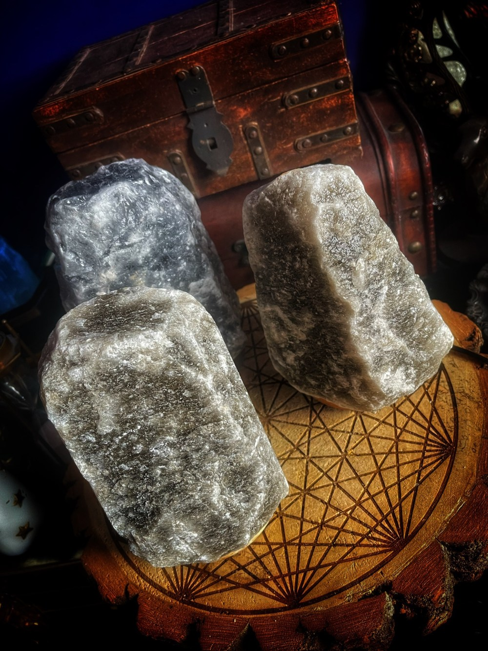 The Witches Black Salt Lamp