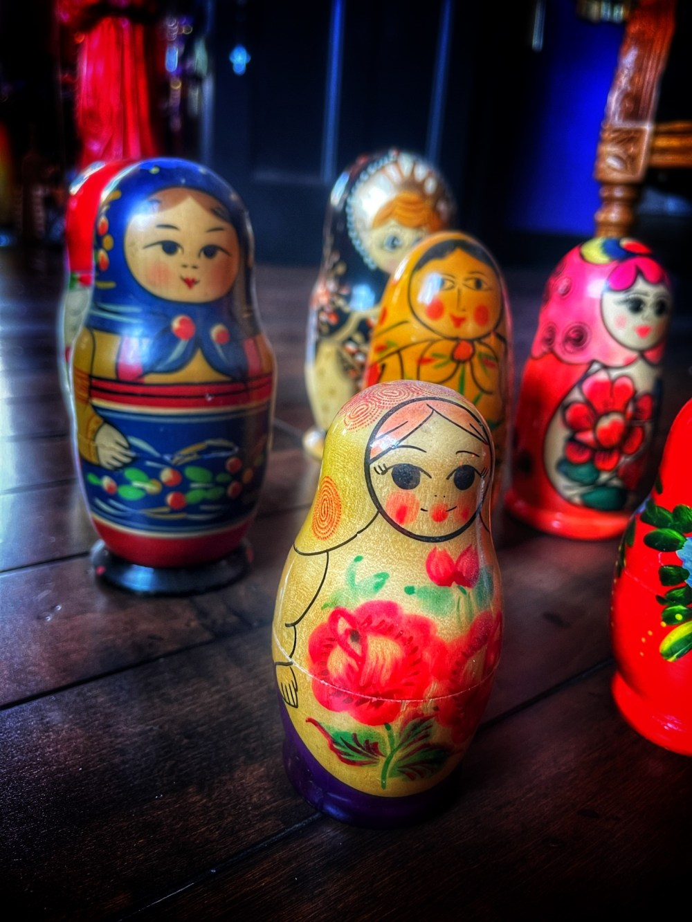 Matryoshka Spell Doll Vintage Surprise