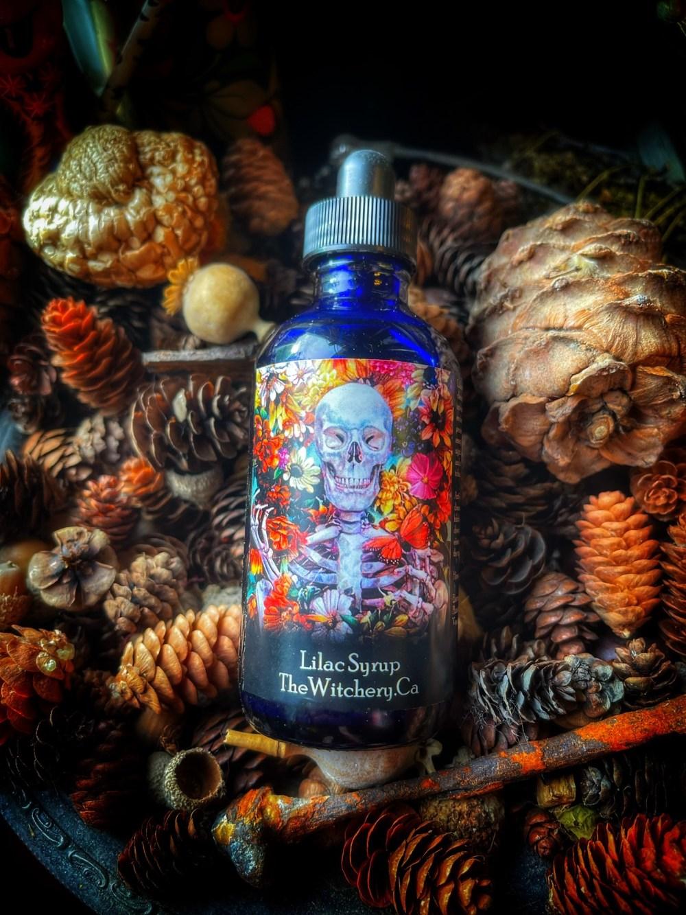 Lilac Syrup Elixir