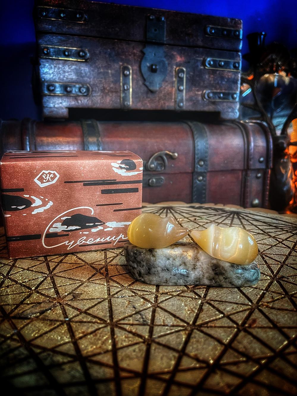 The Hedgehogs Vintage USSR Selenite