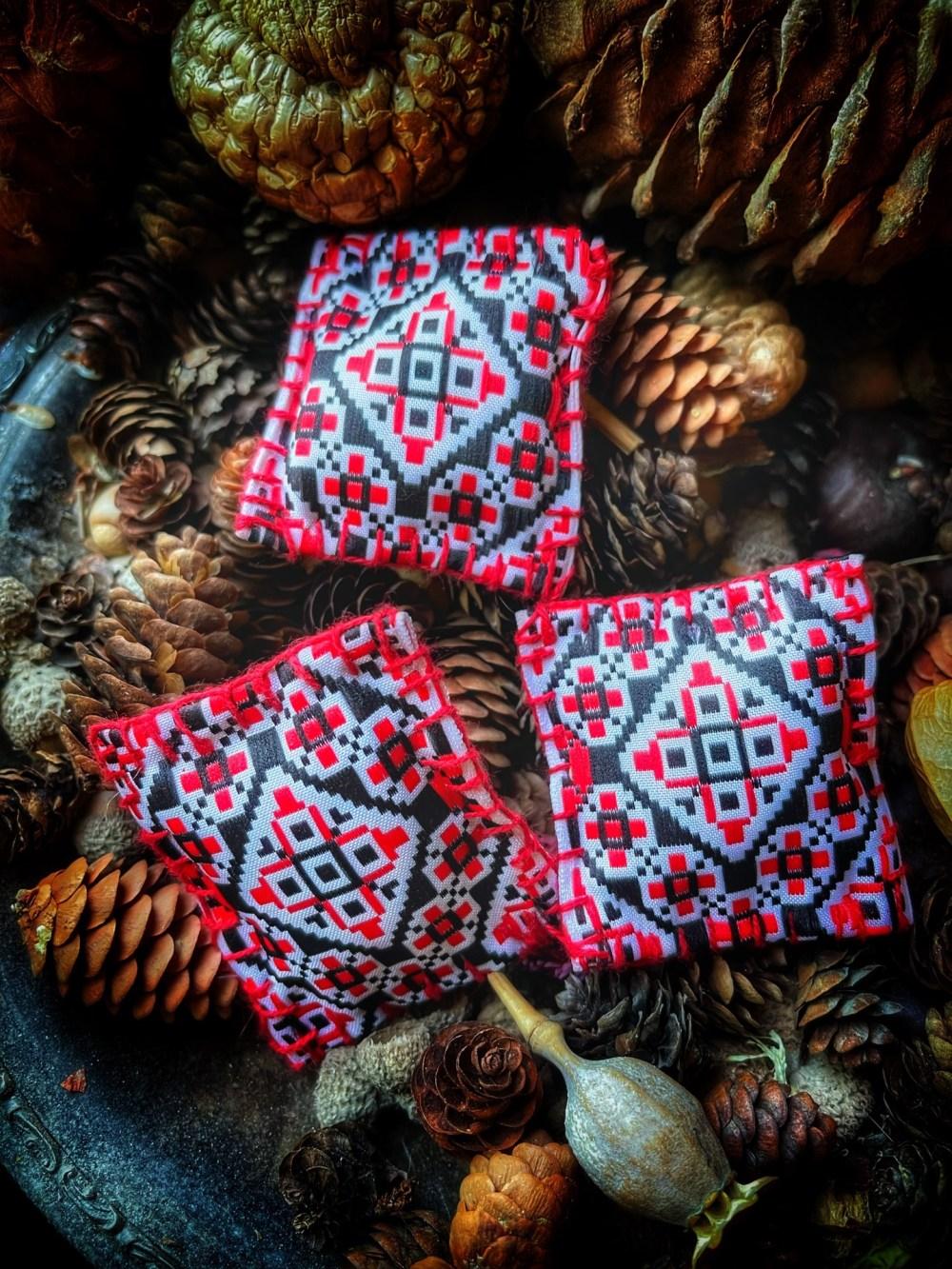 Slavic Ladanki Charm Bag