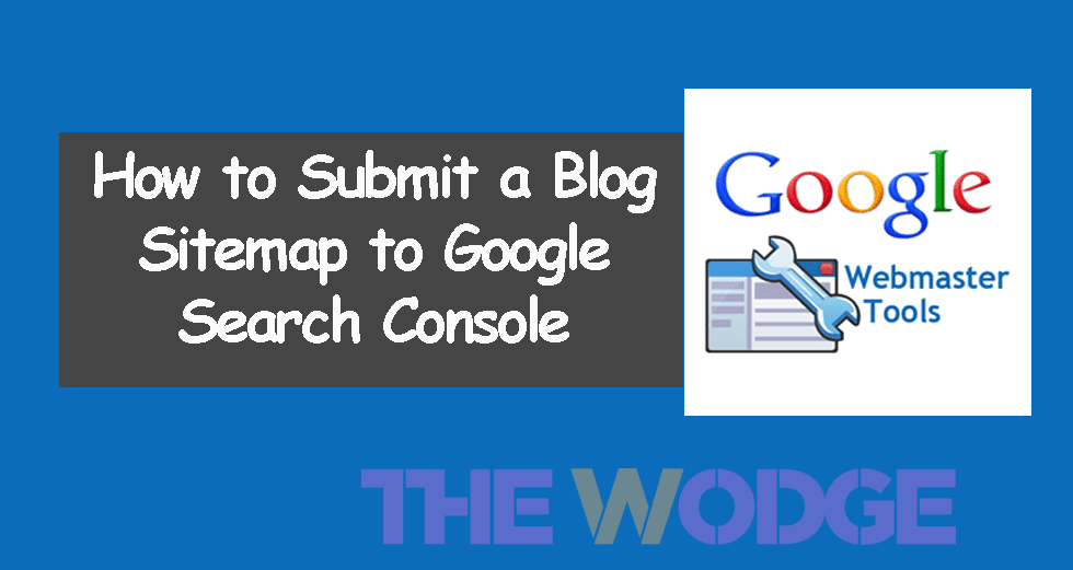 how to submit sitemap to google search console using webmaster tool
