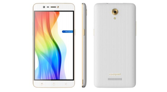 coolpad mega 3 Specs and price in India
