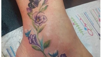 Photo of 1250 Most Popular Foot Tattoos For Women