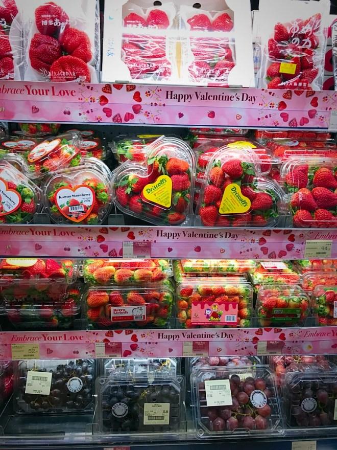 Fragole regalo di San Valentino