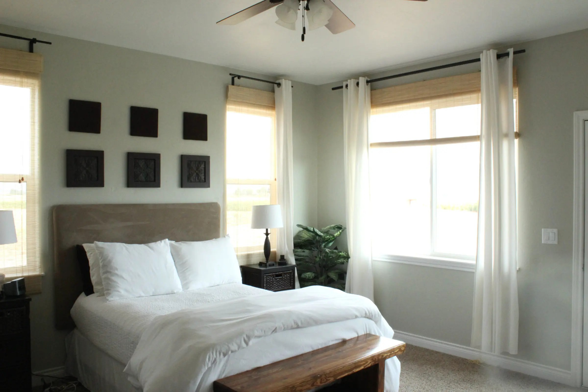 Master Bedroom Curtains - The Wood Grain Cottage on Master Bedroom Curtain Ideas  id=91249