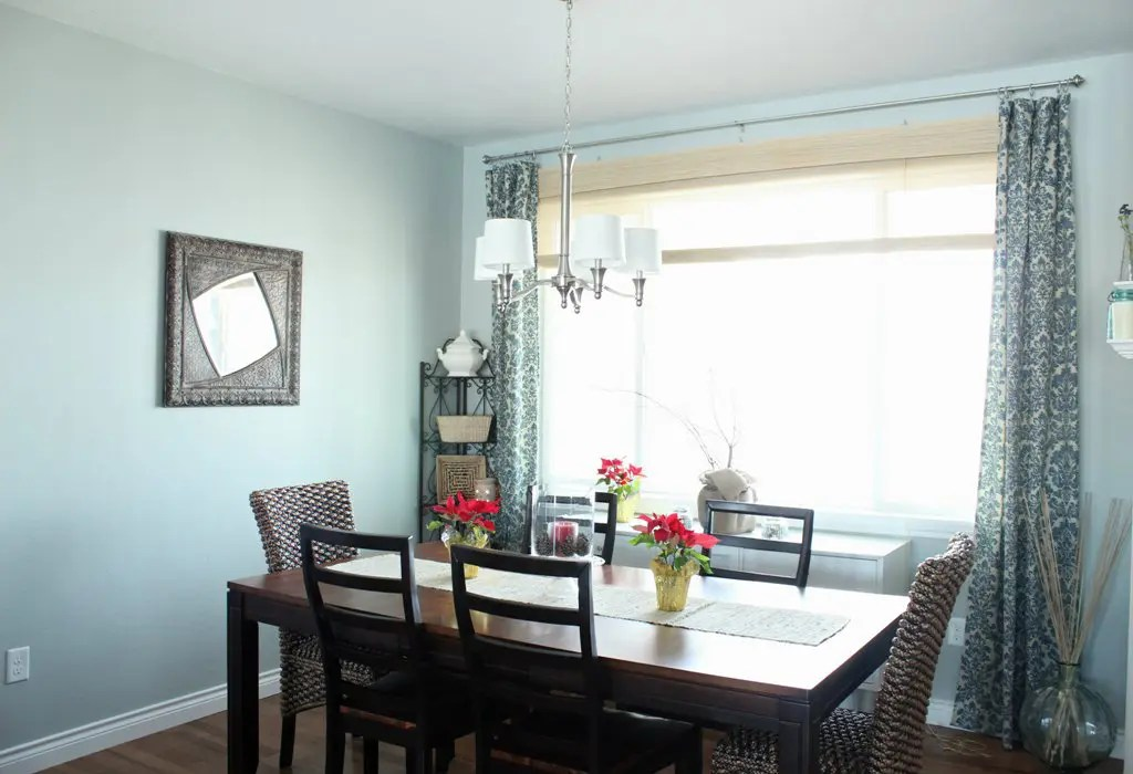 Dining Room Curtains - The Wood Grain Cottage on Dining Room Curtain Ideas  id=80656