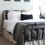 Easy Diy Ruffled Bed Skirt The Wood Grain Cottage