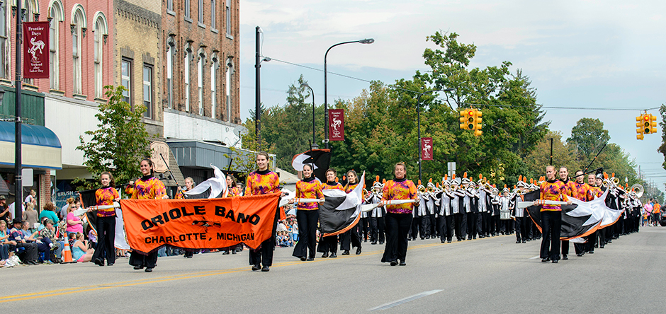 Parade with Charlotte Band