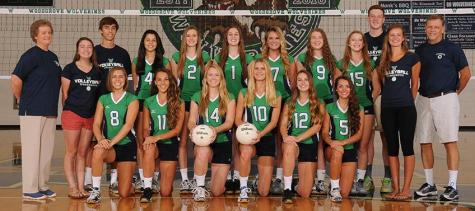 Girls Volleyball Shares Success with Sideout Foundation