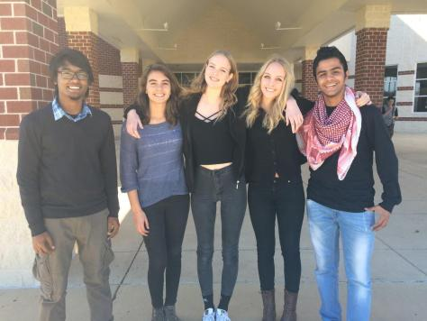 WHS Exchange Students Visit from Around the World