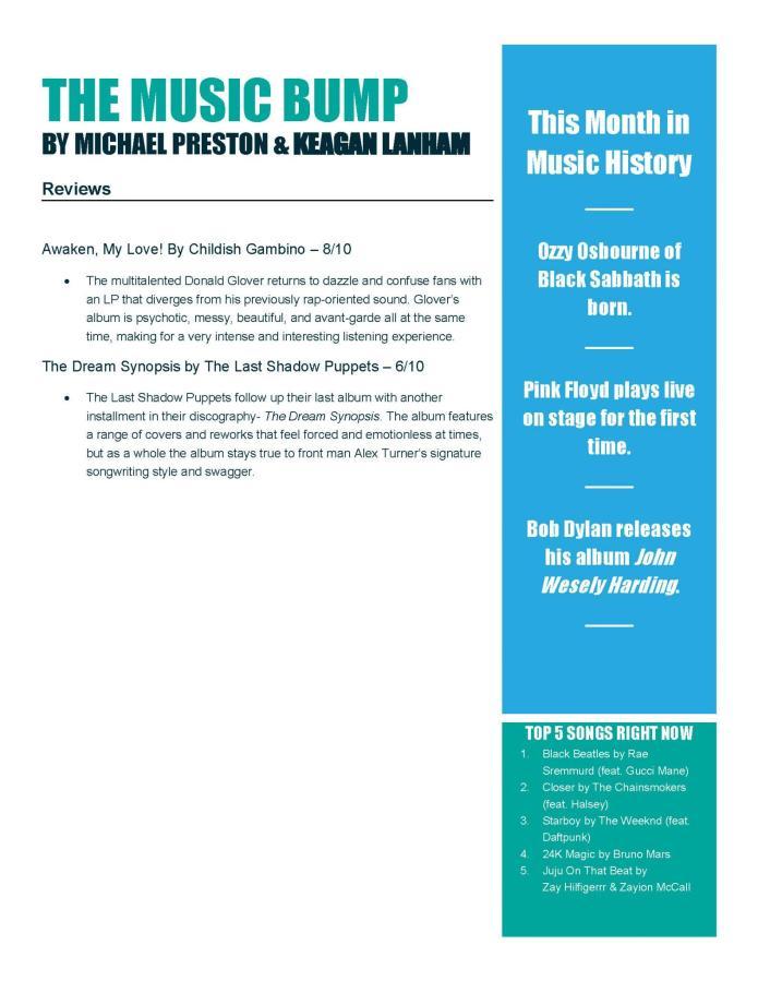 The Music Bump – May