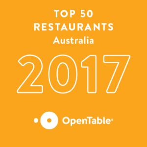 Open Table Tope 50 Restaurants