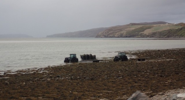 Highland tractor drivers have to be pretty hardy