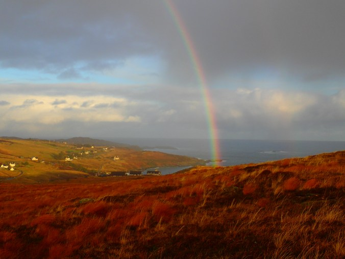 Christmas day Rainbow over Talmine Bay
