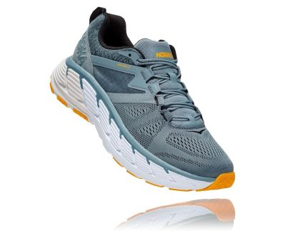 Hoka One One Mens Gaviota 2 Lead Anthracite Front