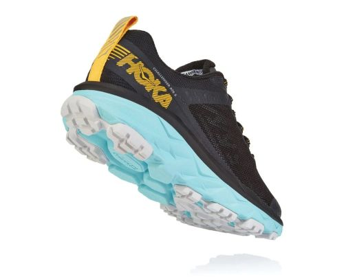 Hoka One One Womens Challenger ATR 5 Anthracite Antigua Sand Back