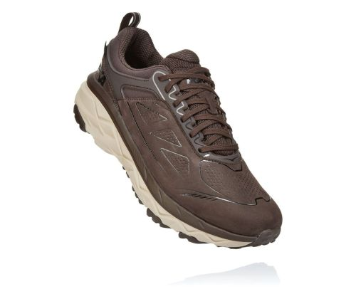 Hoka One One Mens Challenger Low Gor-Tex Demitasse Front