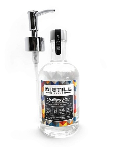 Distill Brand Sanitizing Elixir single bottle