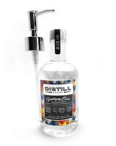 Distill Brand Sanitizing Elixir single bottle